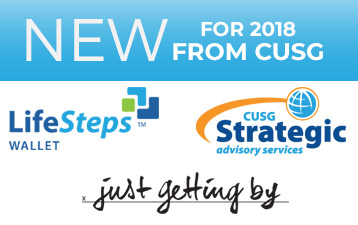 New for 2018 from CU Solutions Group